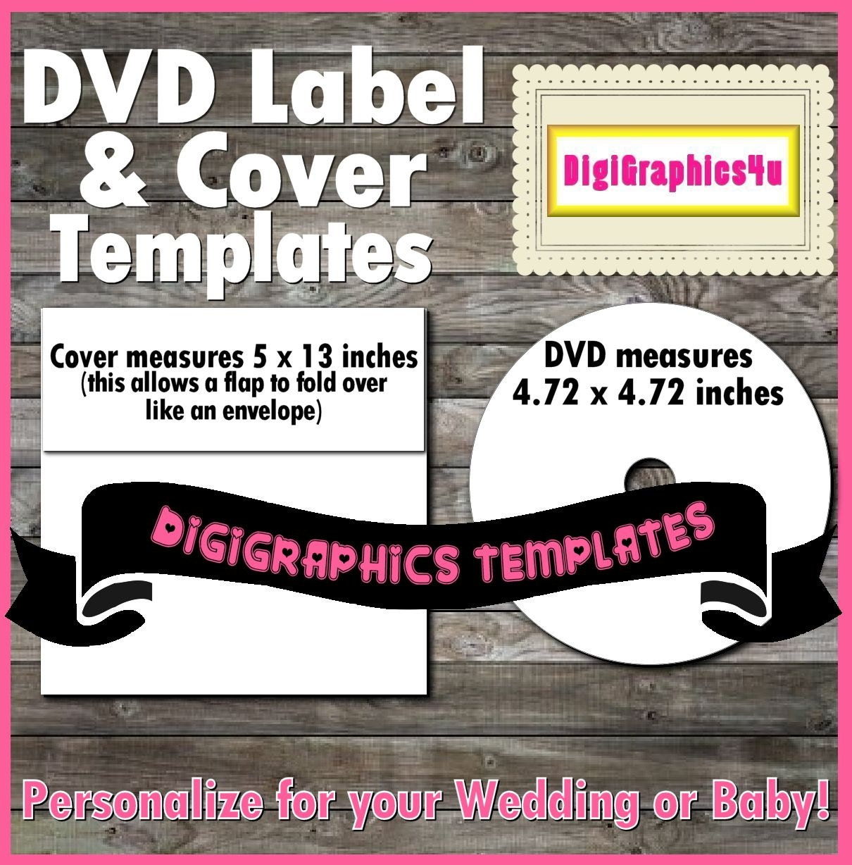 It is an image of Old Fashioned Printable Dvd Cover