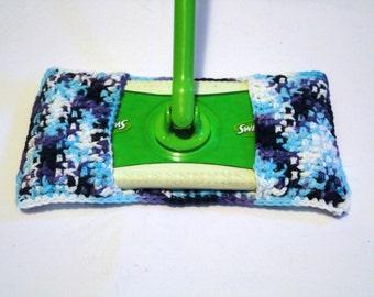 Crochet Swiffer Cover, Swiffer Duster, Swiffer mop cover, Reusable Swiffer Pad, Reusable Swiffer, Swiffer Sweeper! 100% Cotton! Great Gift!