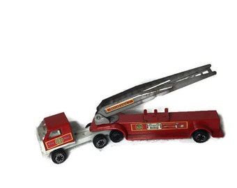 Tonka Fire Engine with Aerial Ladder Vintage