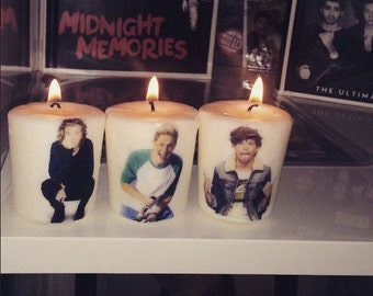 One Direction Candle