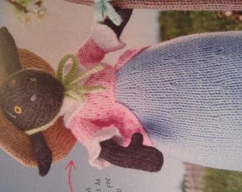 knitting pattern Little bo sheep in DK toy christmas