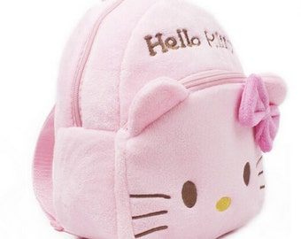 Plush backpack (Hello Kitty, Spiderman, or Superman