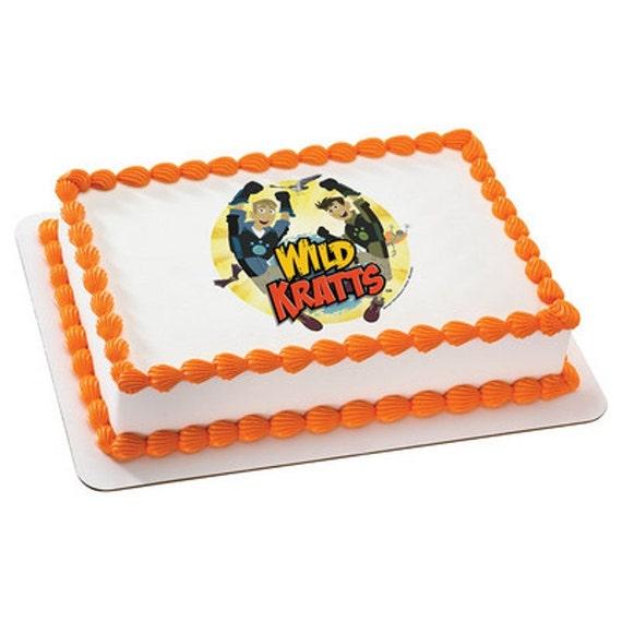 Wild Kratts Cake Walmart