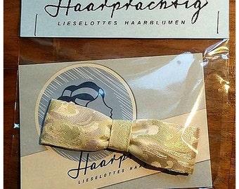SALE! Hair-Ribbon, white, creamy, floral design, wedding-accessory!