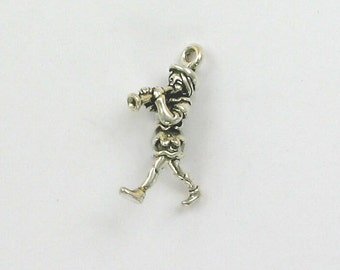 Sterling Silver 3D Pied Piper Charm - sbk49