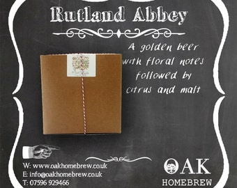 Rutland Abbey  Beer Kit