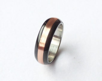 carbon  copper & stainless steel