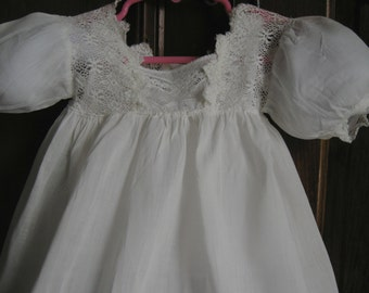 antique CHILDS DRESS