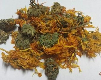 Calendula Flowers 8 oz. - (Marigold) skin soothing