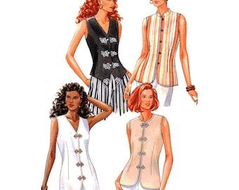 Butterick Sewing Pattern 3456 Misses' Top  Size:  14-16-18  Uncut