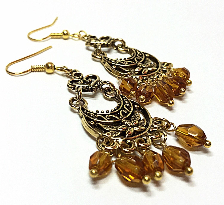 chandelier earring boho drop earring bohemian jewelry