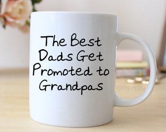 Grandpa Coffee Mug - New Grandpa Gift - Grandfather Coffee Mug - Pregnancy Announcement