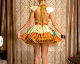 Dashiki Tutu dress