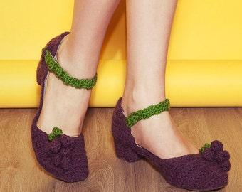 Grapes Mary jane Shoe