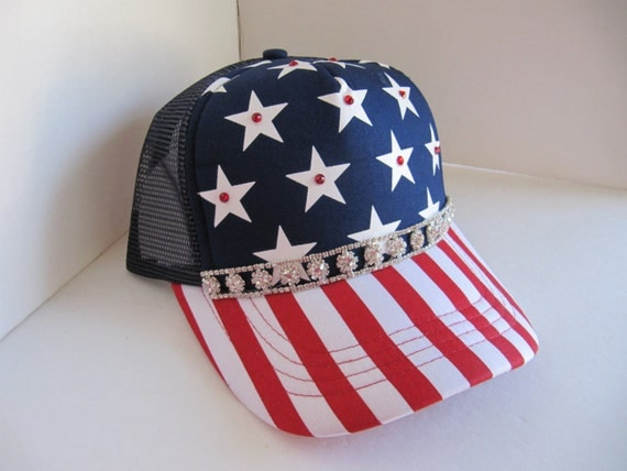 hat womens hats 4th of july hat striped by