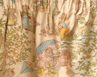 Vintage Children's Curtain's/Fabric