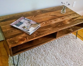 "36"" Coffee Table ~ Handcrafted Reclaimed Wood Coffee Table"
