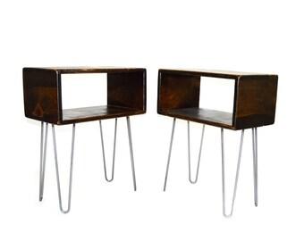 Mid Century Modern Side Table Set