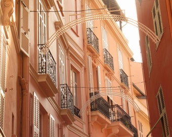 Monaco Photography, France Photography, Architecture, Princess Grace, Wall Art, Fine Art Photography, Large Wall Art, Europe