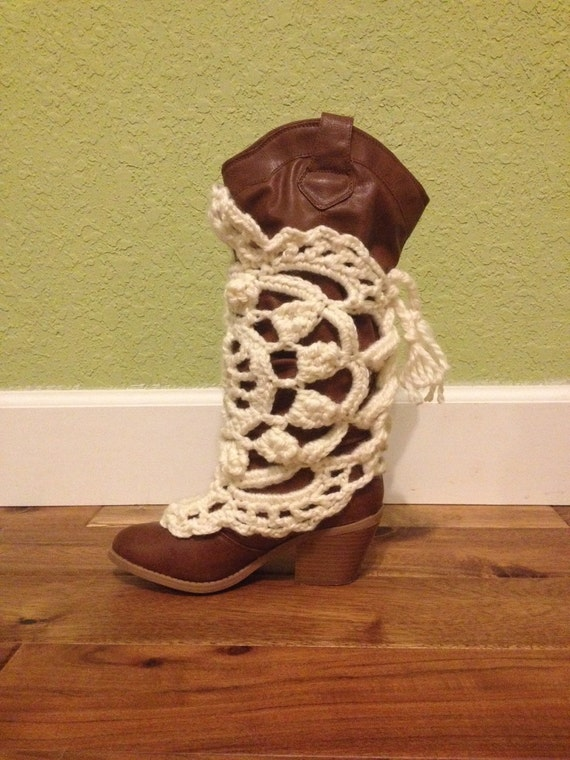 Free Crochet Patterns For Boot Covers : Crochet boot covers