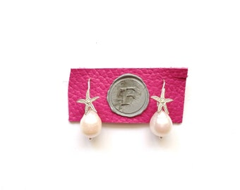 River and Pearl Earrings star