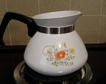 Corning 6 cup teapot Wildflower