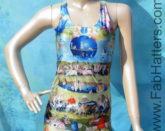 "Hieronymus Bosch - ""Garden of Earthly Delights""  Heaven Racer Back Tank"