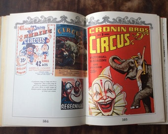 The World Of Clowns By George Bishop Vintage Clown Book Vintage Circus Carnival collectors