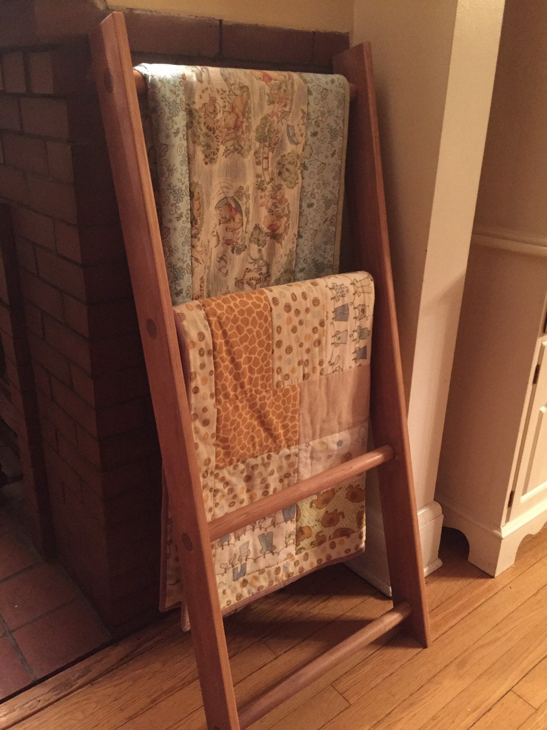 Ladder Quilt Rack