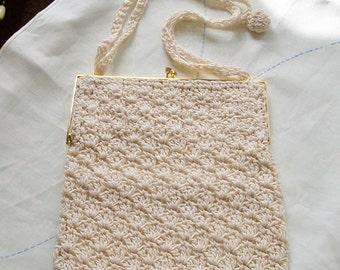 Crochet Cross Body Purse - Exquisite!