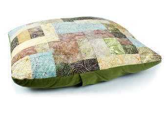 Floor Pillow Hand Quilted