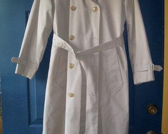 Classic vintage Misty Harbor 1970's trench coat