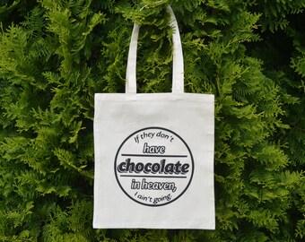 Cotton shopping bag  ( A4 size)