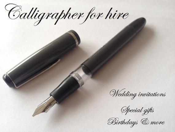 Calligraphy Fountain Pen Dollar Qalam
