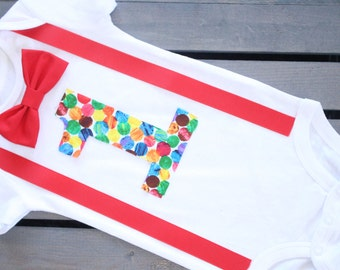 The very hungry caterpillar onesie, First birthday cake smash outfit, Very hungry caterpillar