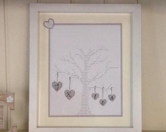 UK Seller: Family Tree * New Home * Family Picture