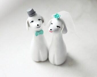 Wedding Cake Topper, Dog Cake Topper, Love Dogs