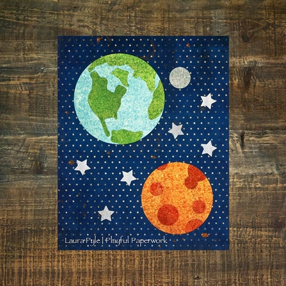 Outer Space Room Decor For Teen: Outer Space Nursery Space Themed Nursery Teen Room Decor