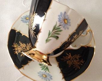 Adderley  China Tea cup and Saucer Teacup Set