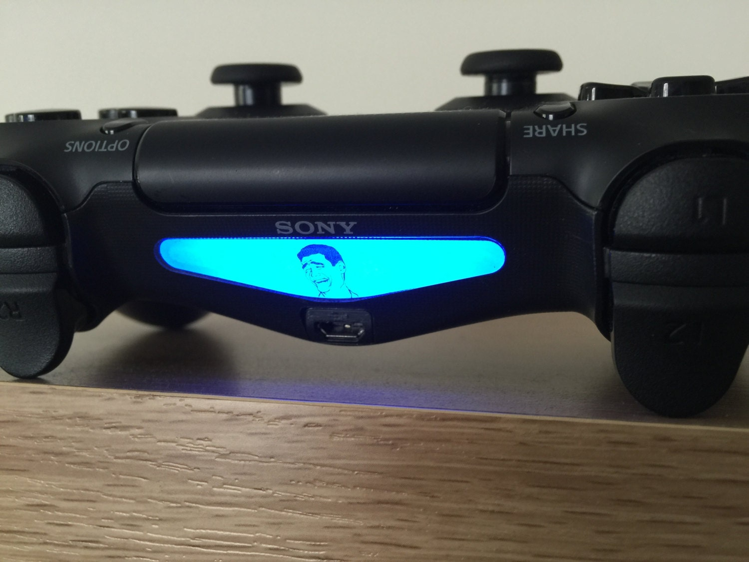 Epic Troll Face Meme Playstation 4 PS4 Dual Shock Controller
