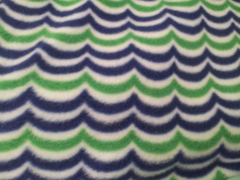 nautical waves fleece fabric by the yard by reneeschoicefabrics. Black Bedroom Furniture Sets. Home Design Ideas
