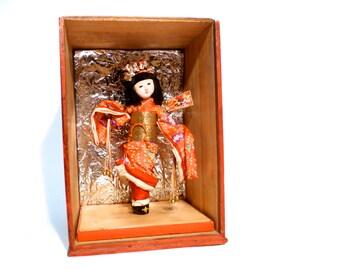 Oriental Shadow Box Etsy