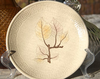 "Johnson of Australia ""Beech Leaf "" design Bread plate"