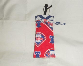 Philadelphia Phillies -  Reading Glasses Case - Quilted Fully Lined