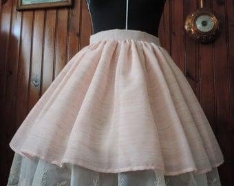 Pink lolita skirt