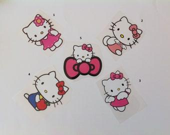 Hello Kitty Iron-On Transfer - Free Shipping