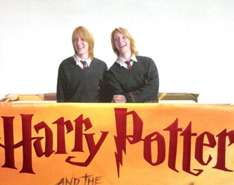 Fred and George Character Bookmark