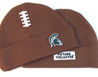 Michigan State Spartans Baby Football Cap