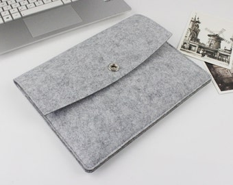 Felt Macbook Air 13 sleeve, Macbook sleeve 13, Macbook case 13, Macbook Air case, Macbook Air sleeve, Laptop sleeve, macbook case SJ203