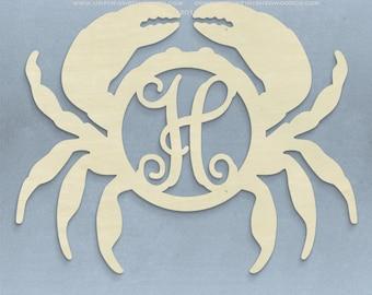 "21"" Unfinished Crab Monogram"